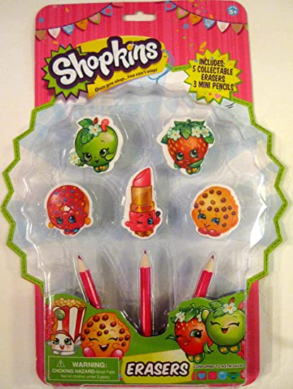 Shopkins Collectable Erasers