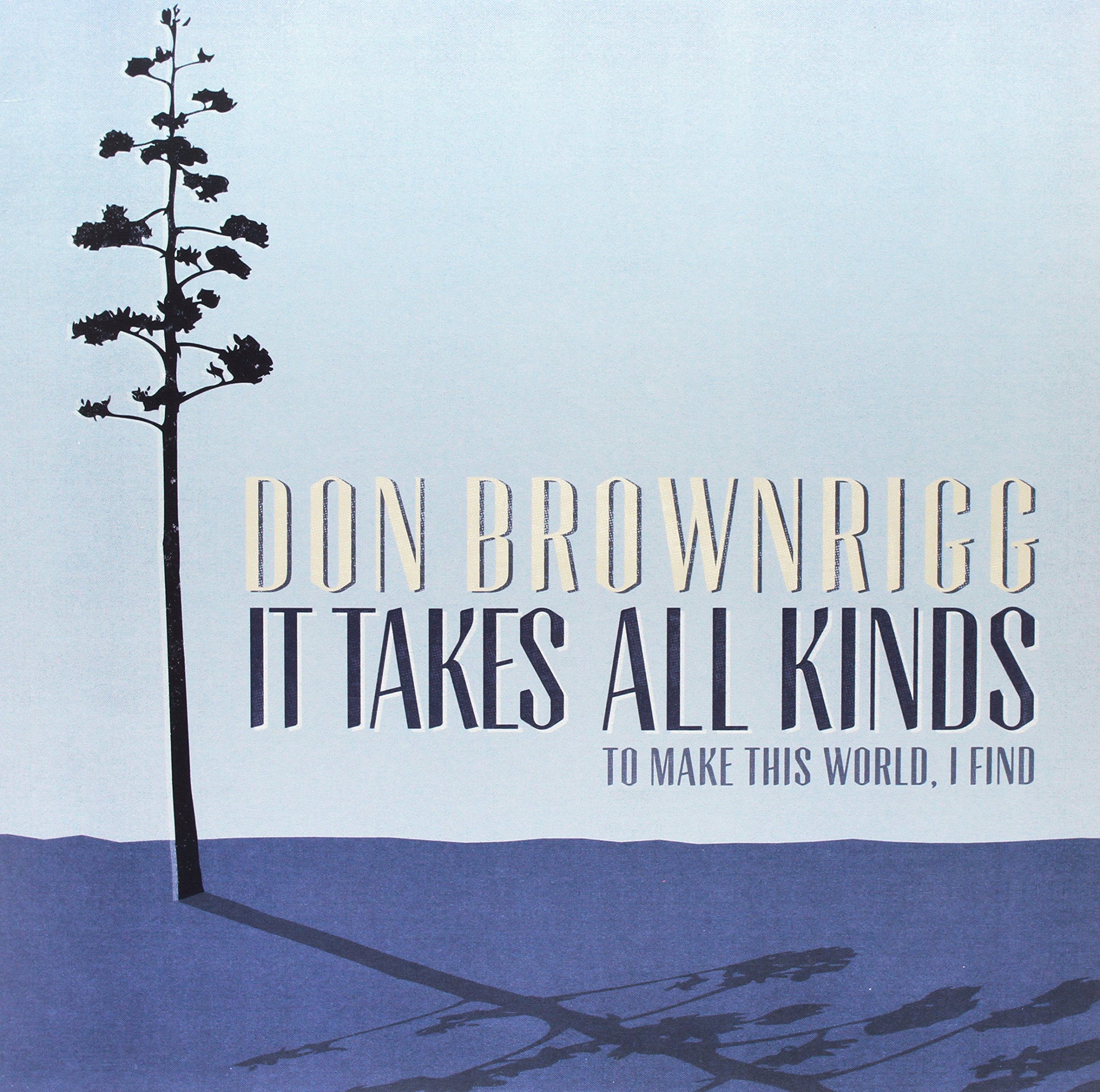 Vinilo : Don Brownrigg - It Takes All Kinds (Canada - Import)