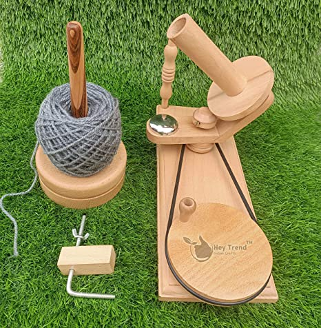 Handmade Premium Crafted YARN WINDER for Knitting /& Crocheting Center Pull Ball Yarn Swift