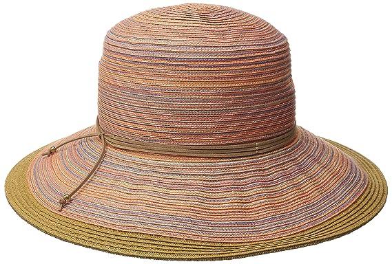 San Diego Hat Company Women s 4-inch Mixed Braid Sun Brim Hat 05e39c325e6