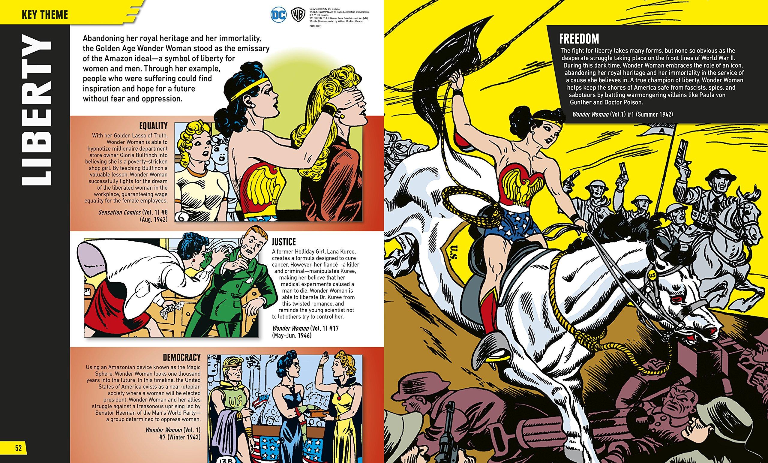 edcaf9b1 Amazon.com: DC Comics Wonder Woman: The Ultimate Guide to the Amazon  Warrior (9781465460721): Landry Q. Walker: Books