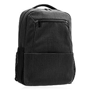 """AmazonBasics 15.6"""" Laptop Backpack Professional - Black"""