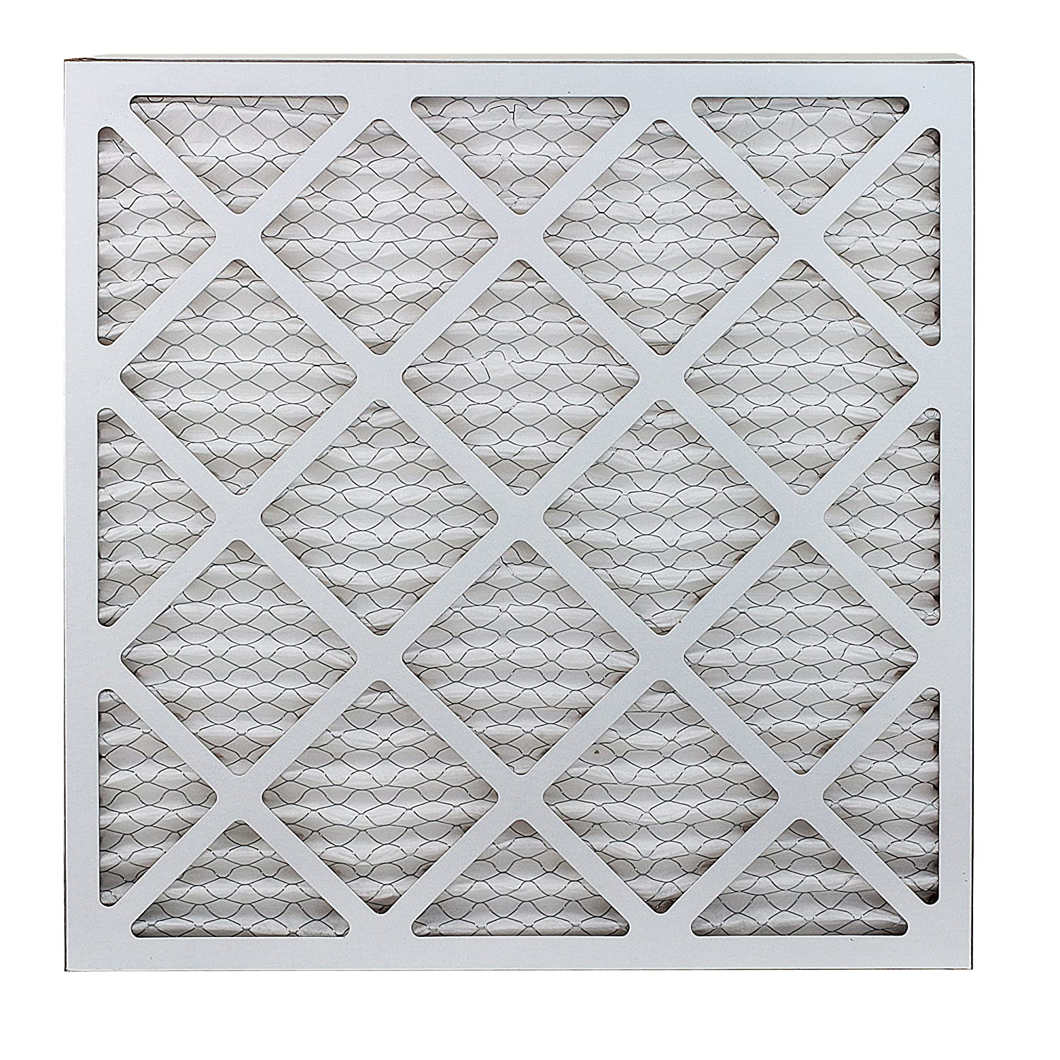 Pack of 2 Filters FilterBuy 18x20x1 MERV 8 Pleated AC Furnace Air Filter, Silver 18x20x1