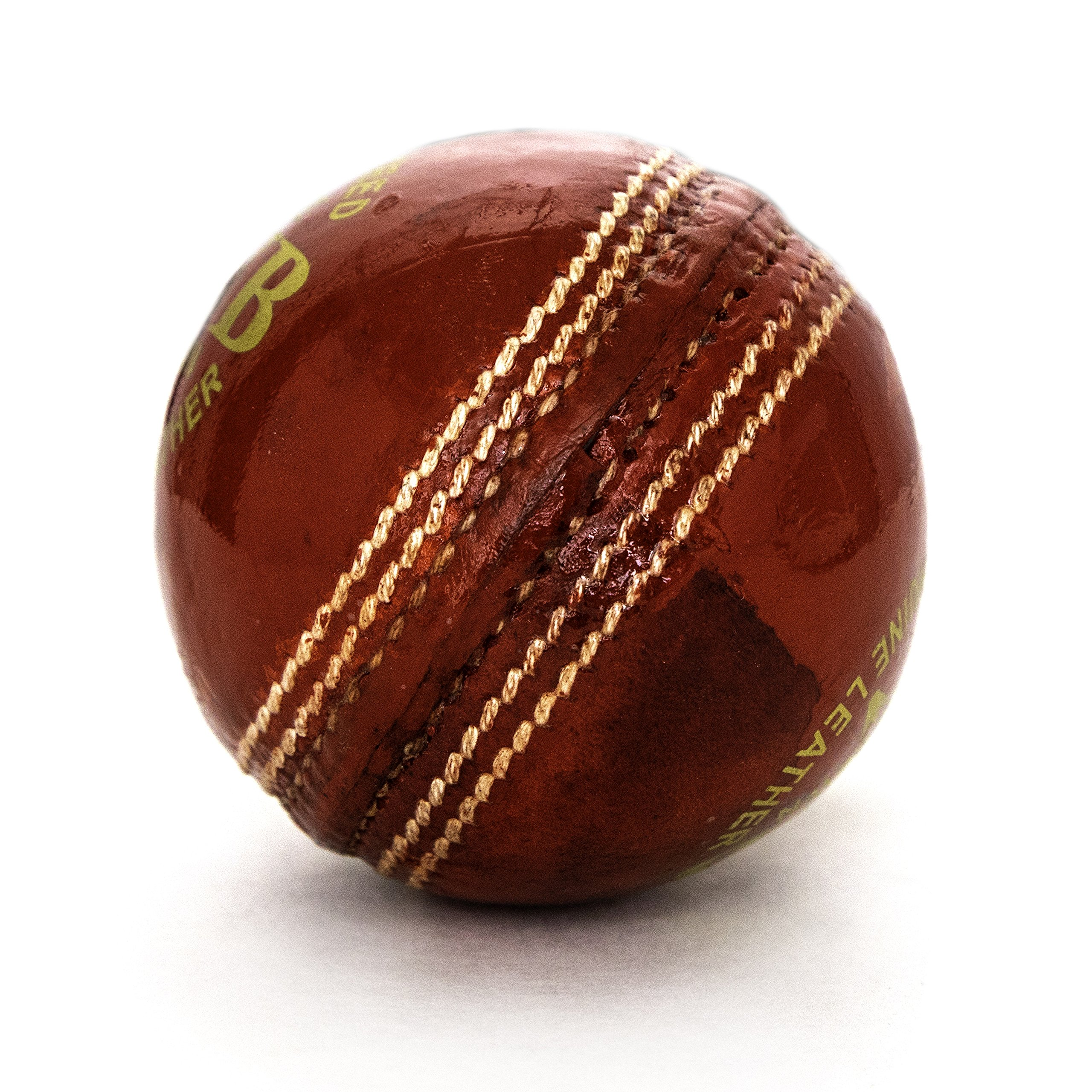 Pro Impact Club Play Leather Cricket Ball (1 Ball)