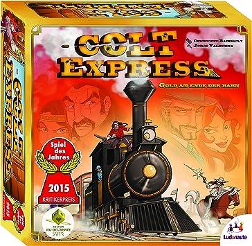 Ludonaute - Juego de Miniatura Colt Express (217632) (versión en alemán): Amazon.es: Juguetes y juegos
