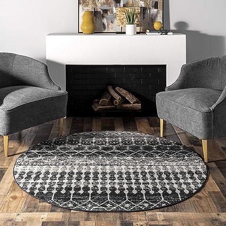 Black nuLOOM Moroccan Blythe Area Rug 3 x 5