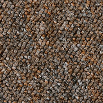 Teppichboden Auslegware Meterware Schlinge beige 400 und 500 cm breit verschiedene L/ängen