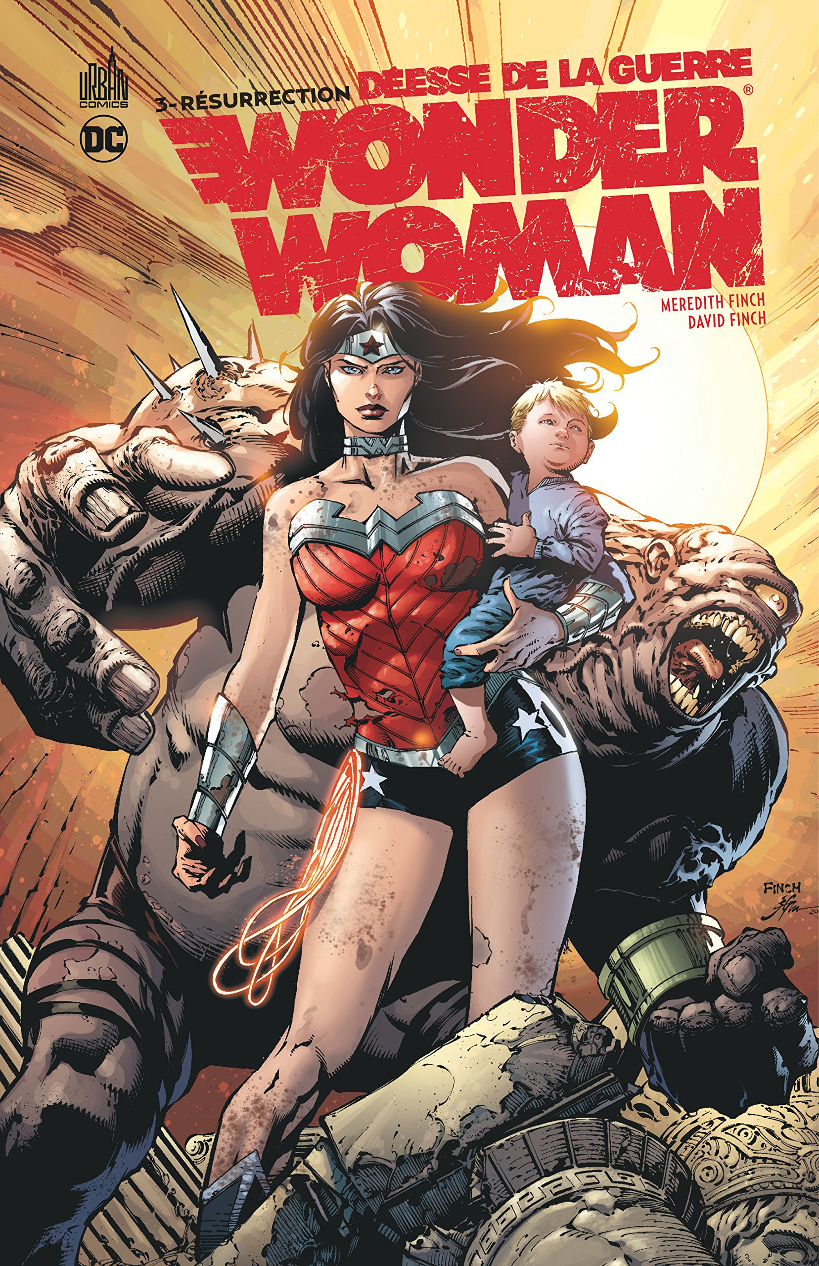 wonder woman comics ordre