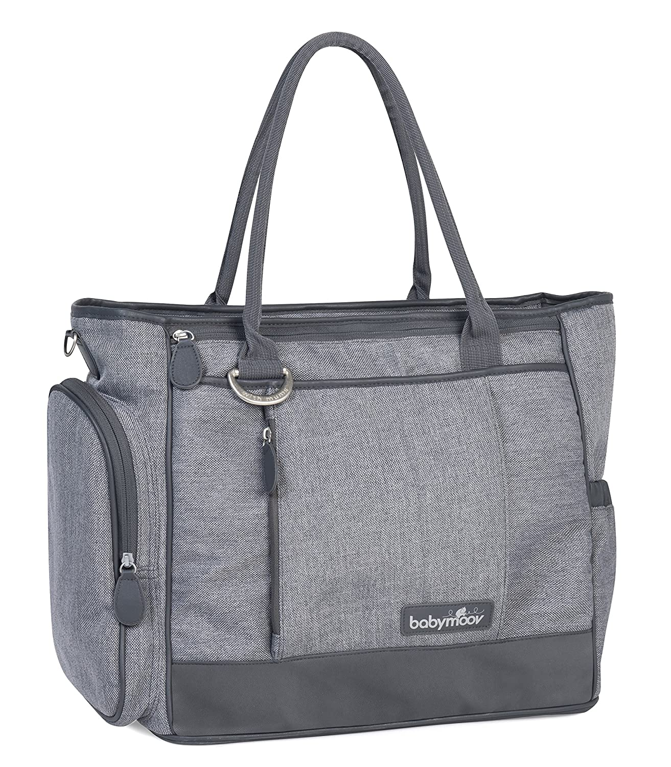 Babymoov Essential Diaper Bag | Multi-Function & Lightweight with 14 Pockets and 6 Accessories Included for Organized Storage
