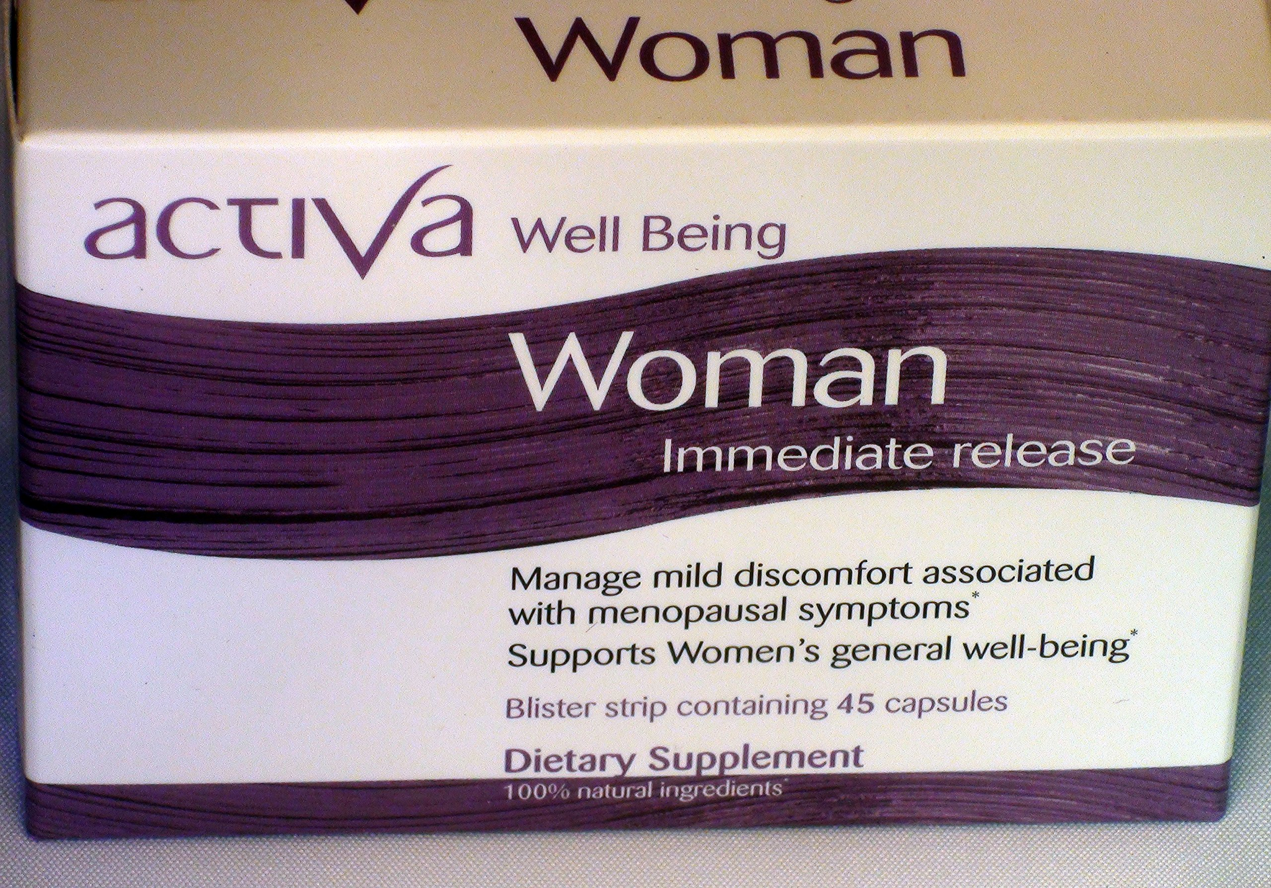 Activa Well Being Woman - Immediate Release by Laboratoires Activa
