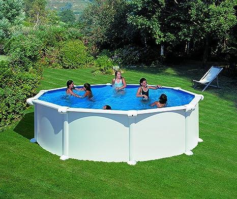Gre FPR352 - Liner para Piscinas Redondas, Diámetro de 350 cm, Altura de 120 cm, Color Azul: Amazon.es: Jardín