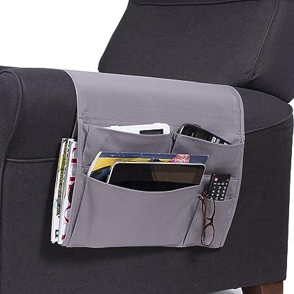 Wallniture Remote Control Holder - Ipad Gadget Caddy Pocket Organizer for Sofa Armchair - Bedside Loft & Amazon.com: Wallniture Remote Control Holder - Ipad Gadget Caddy ...