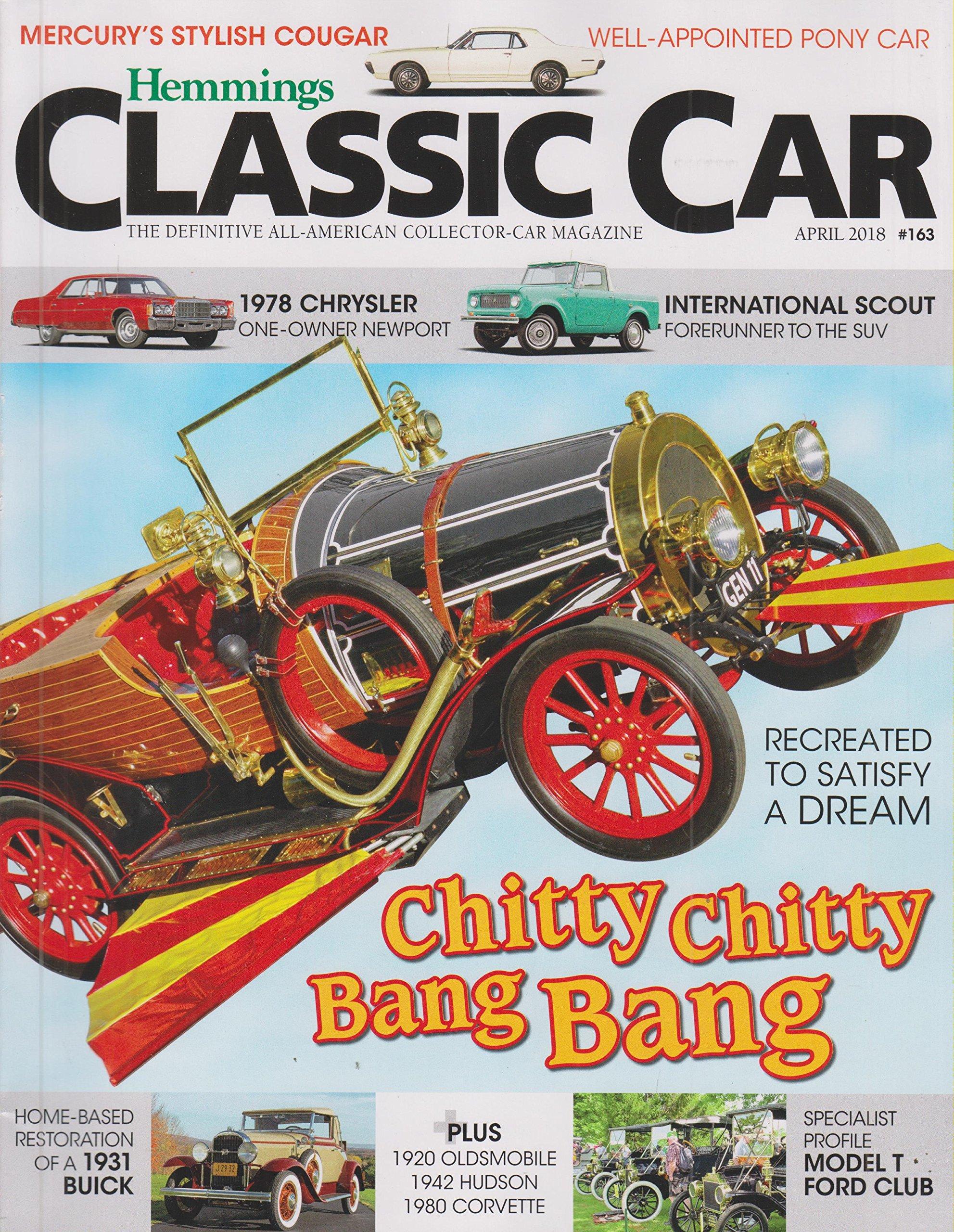 Hemmings Classic Car April 2018 Chitty Chitty Bang Bang - Recreated ...