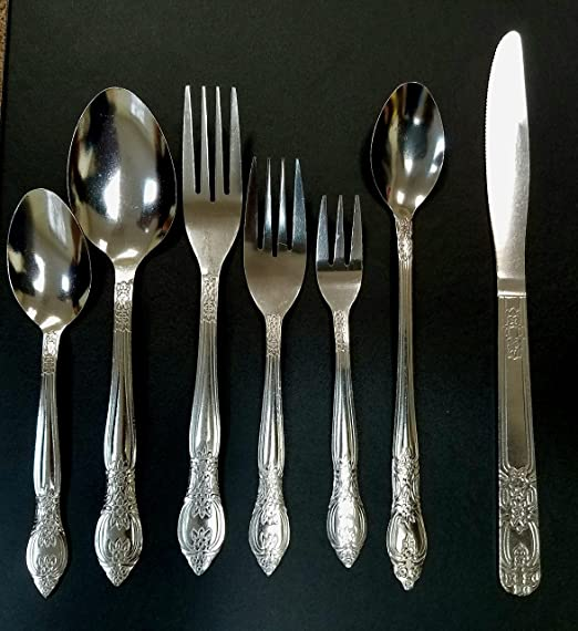 102 piece Stainless Steel Flatware set with Drawer Tray by Essential Homes QZ102
