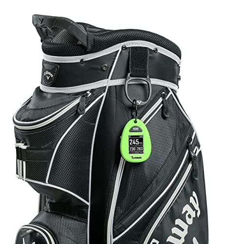 Izzo Swami Sport GPS Unit Hang it of the golf bags
