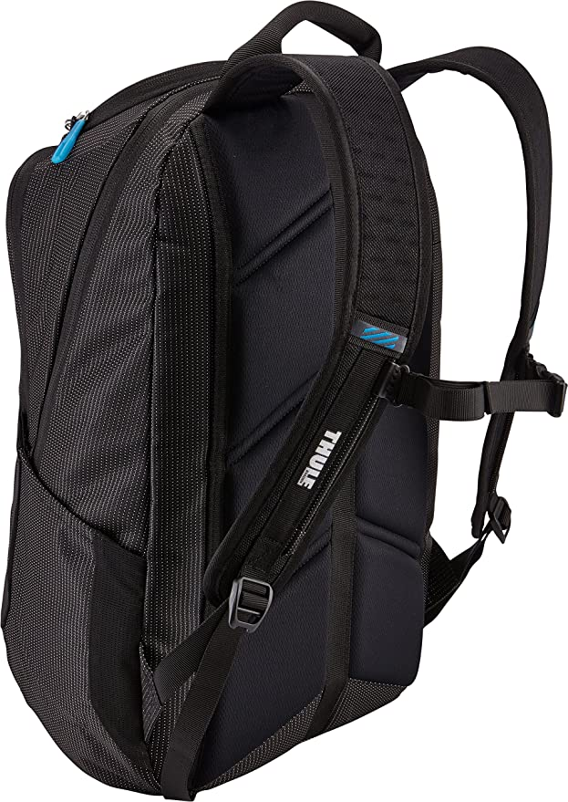 50a41cf3bc0 Amazon.com: Thule Crossover 25L Laptop Backpack, Black: Computers &  Accessories