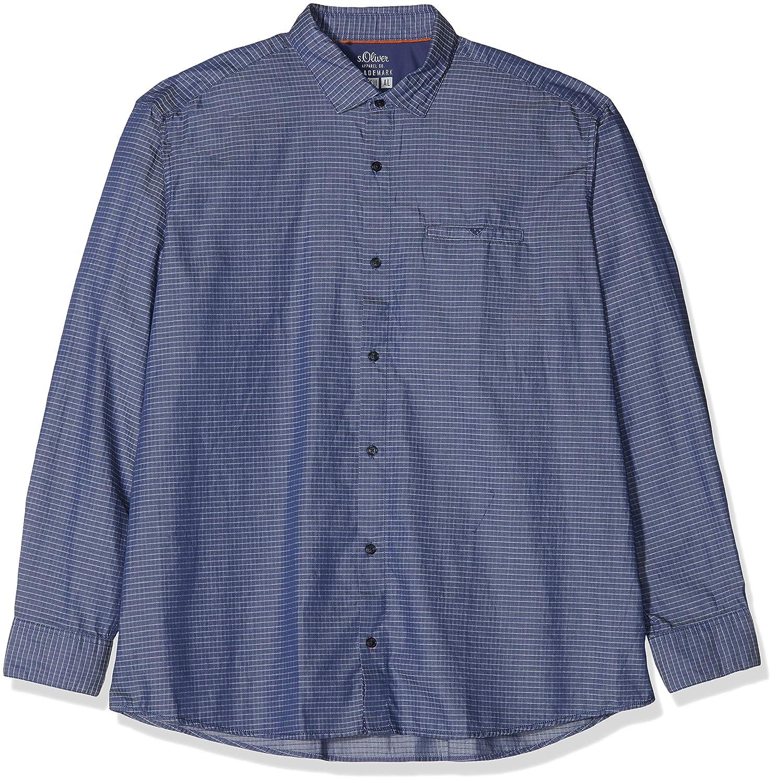TALLA 4XL. Ser Big Size Camisa Casual para Hombre