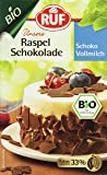 RUF Bio Raspel Schok Vollmilch, 11er Pack (11 x 100 g)