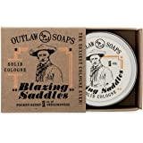 Blazing Saddles Solid Cologne (the sexiest cologne ever) - 1 oz - Put the Wild West in your pocket: leather, gunpowder, sandalwood, and sagebrush - Men's or Women's Cologne