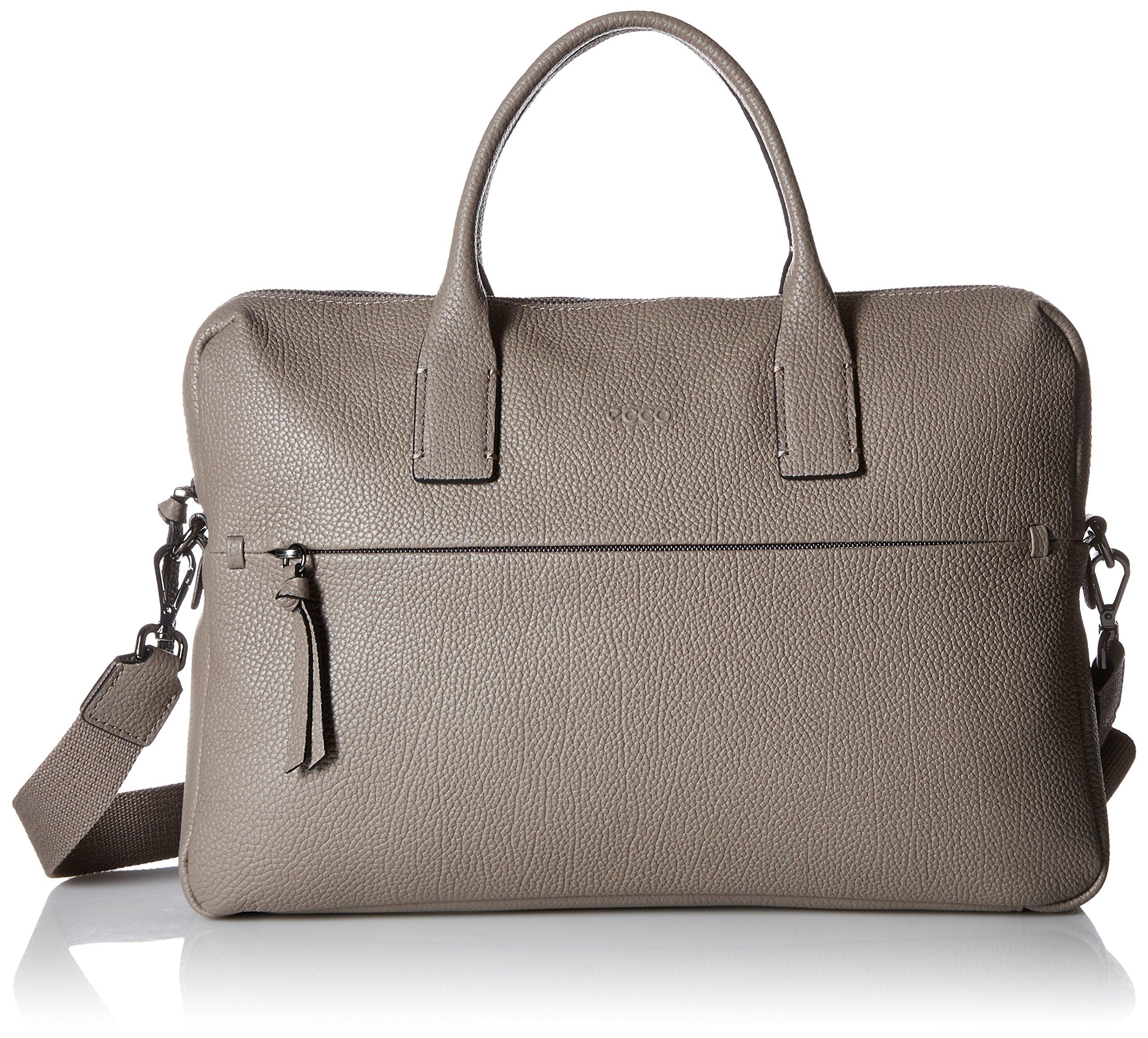 ECCO SP Slim Briefcase Shoulder Bag, Moon Rock, One Size