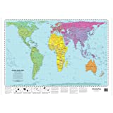Peters World Map (53 x 77 cm)