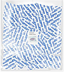 Dry-Packs 20-1000cc Oxygen Absorbers for Vacuum Seal or Mylar Bag Perfect for Prepping Long Term Food Storage, 1000CC, Blue
