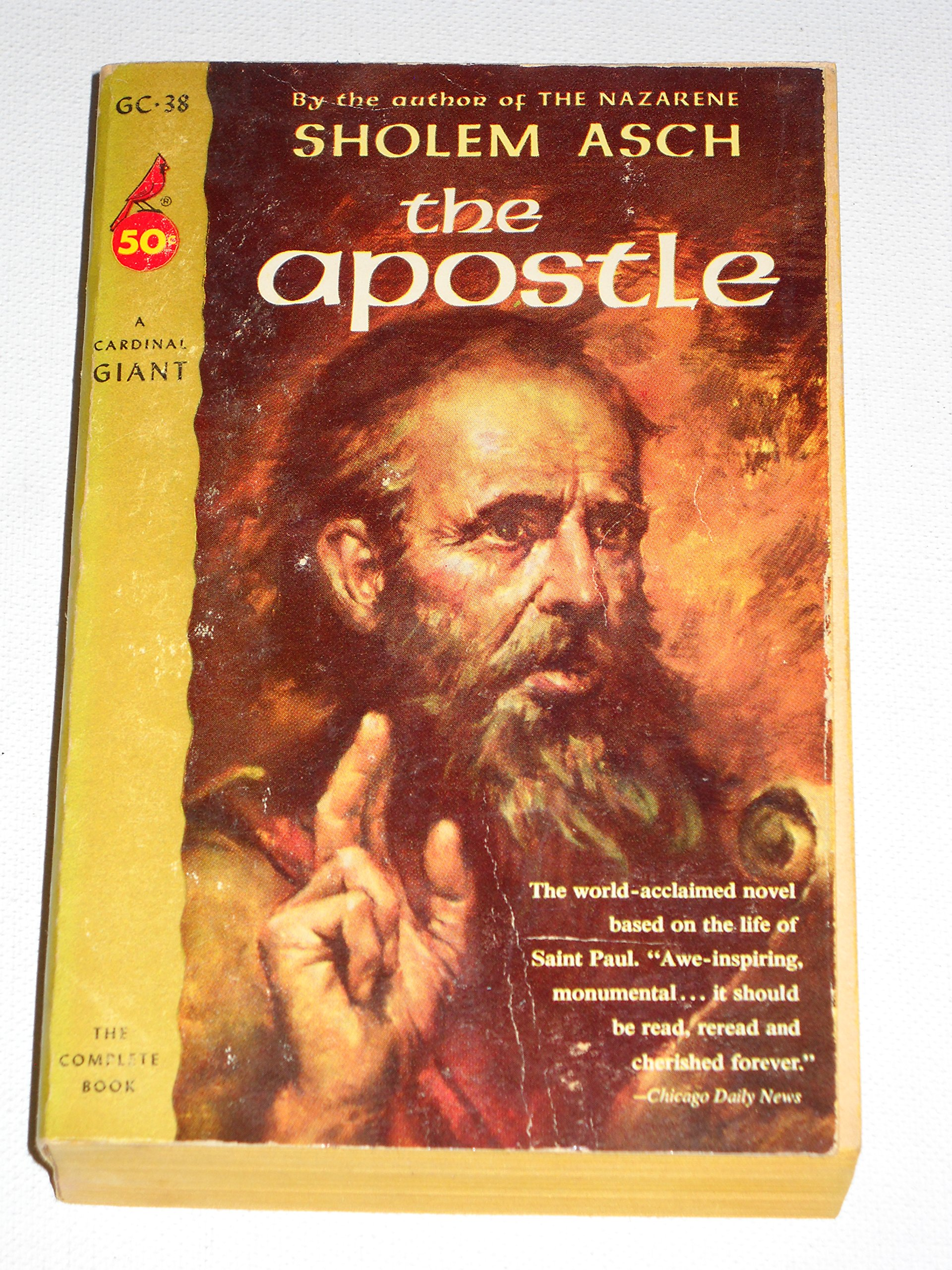 The apostle (A Cardinal giant, GC-38. Fiction), Asch, Sholem