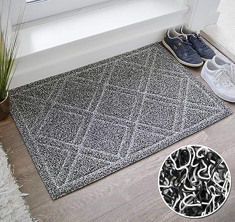 BrigHaus Large Indoor/Outdoor Doormat | 24 X 35 | Non Slip Heavy Duty Front