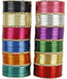 MUCH-MORE Fabulous Indian Fashion Metal Plain Bangle Partywear Wedding Ethnic Traditional Jewelry