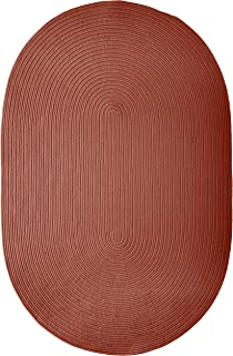 product image for Colonial Mills Boca Raton Rug, 8x10, Terracotta