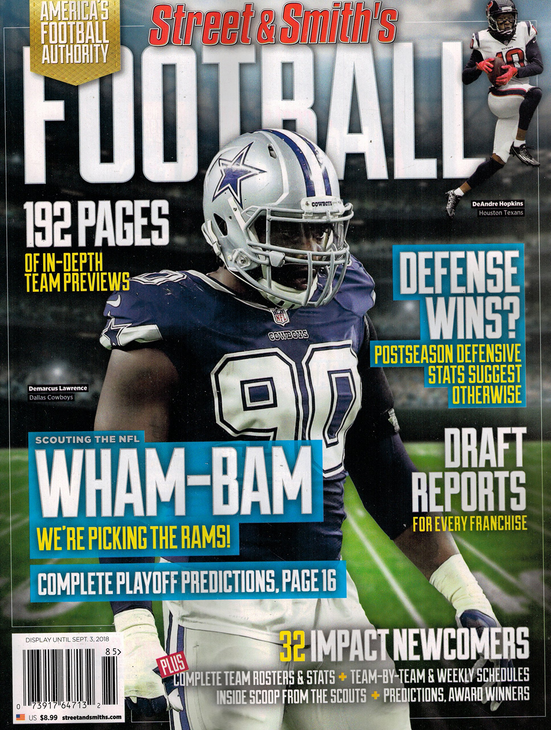 Download Street & Smith's 2018 College Football Yearbook Region 11 ebook