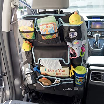 OSENIA PREMIUM CAR BACKSEAT ORGANIZER BABY TRAVEL ACCESSORIES KIDS TOYS PAPERS