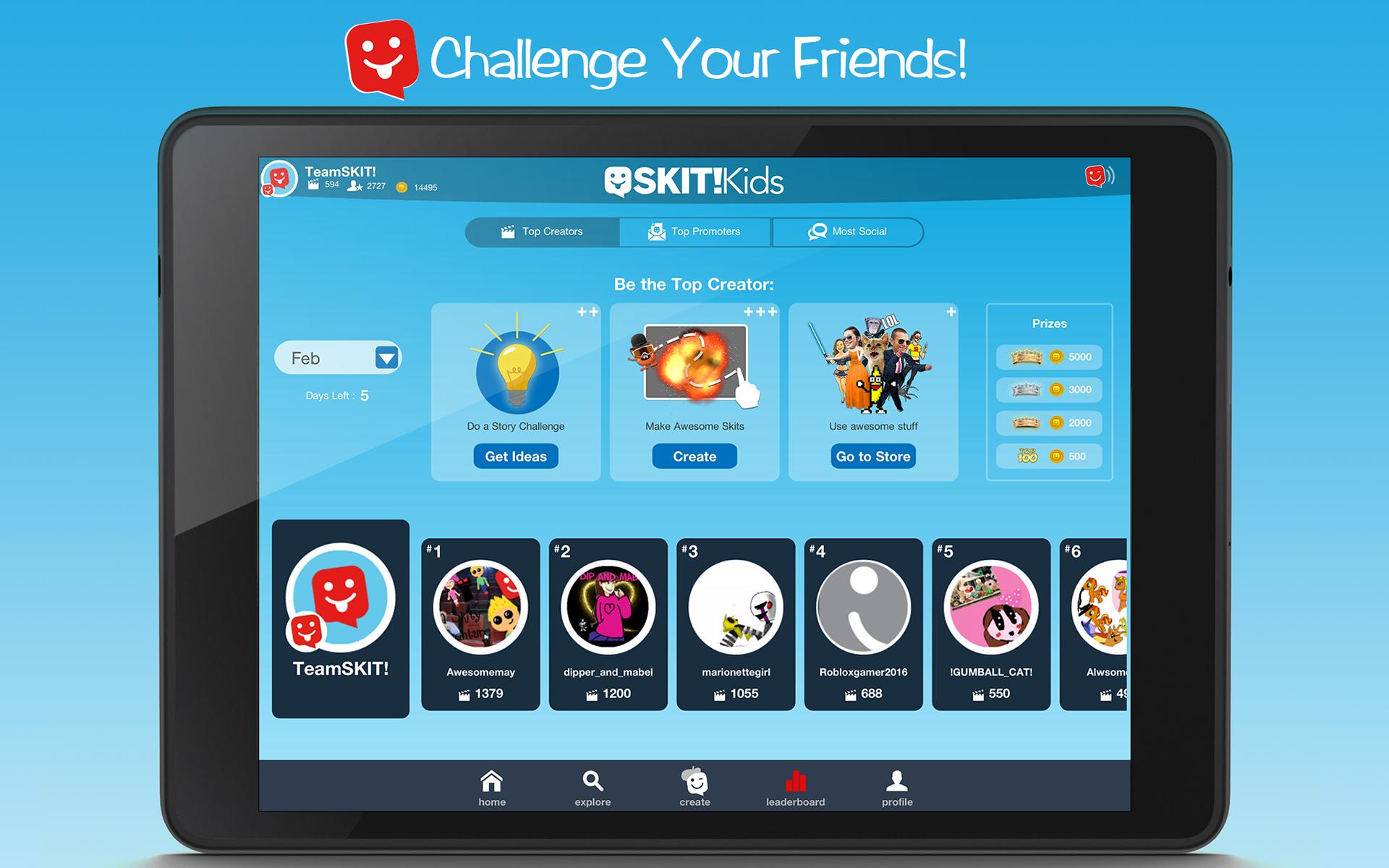 Skit Kids Create Videos Make Friends Appstore For Kidselectronicsboardjpg Android