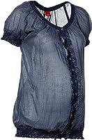 ESPRIT Maternity Damen Umstandsmode Bluse, gestreift C84305