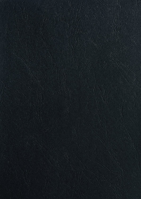 Pavo Einbanddeckel-Lederoptik DIN A3, 250 g/m², 100-er Pack, schwarz 250 g/m² Pavo Sales B.V 8017355