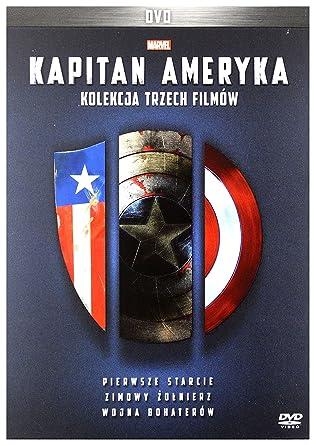 Captain America Trilogy: Pierwsze starcie / Zimowy ĹťoĹnierz ...
