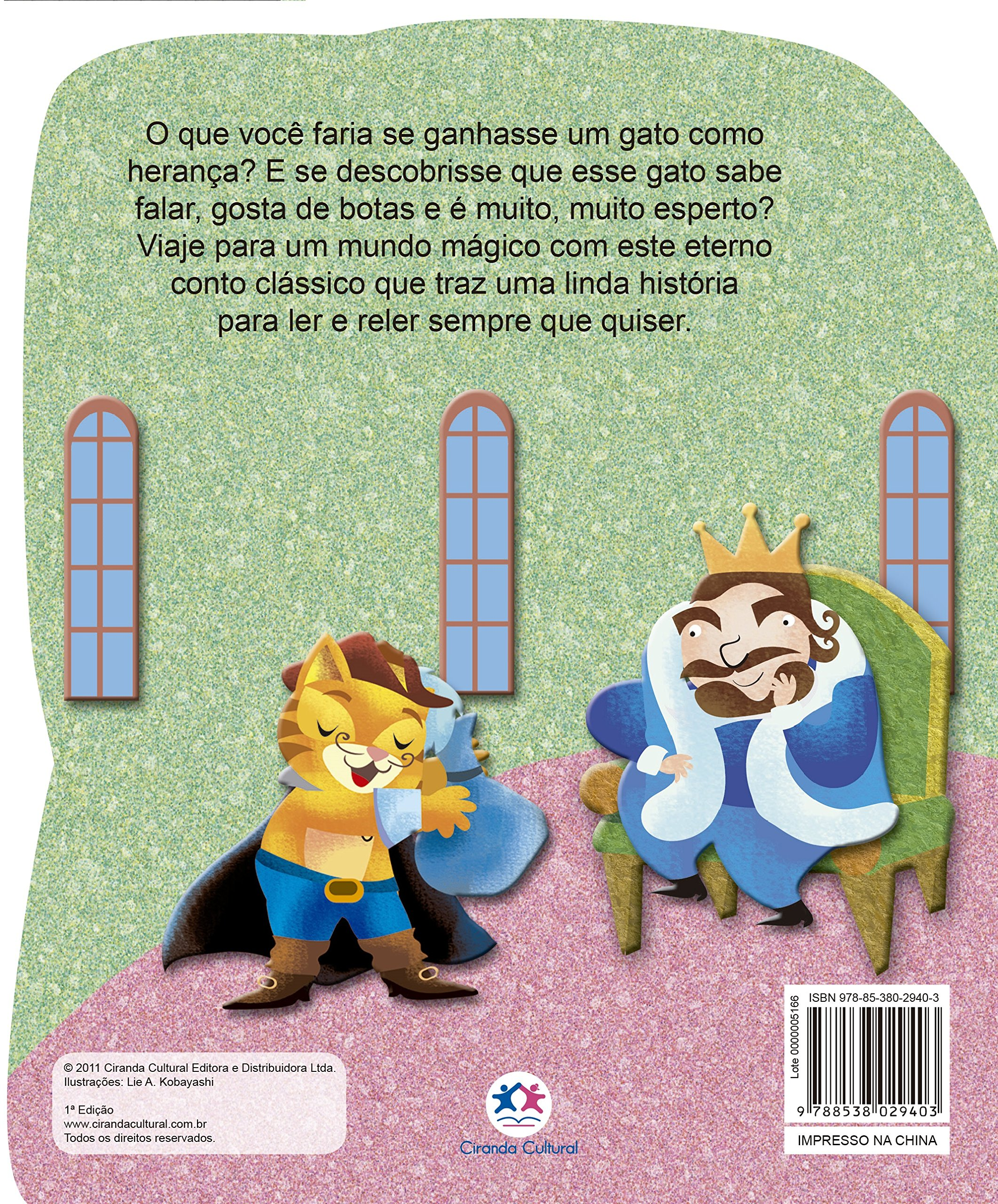 O Gato De Botas Varios Autores 9788538029403 Amazon Com Books