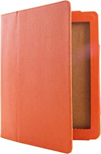 Science Purchase Orange PU Leather Stand Cover for Apple iPad 2 and iPad 3 (Does NOT FIT Any iPAD Air)