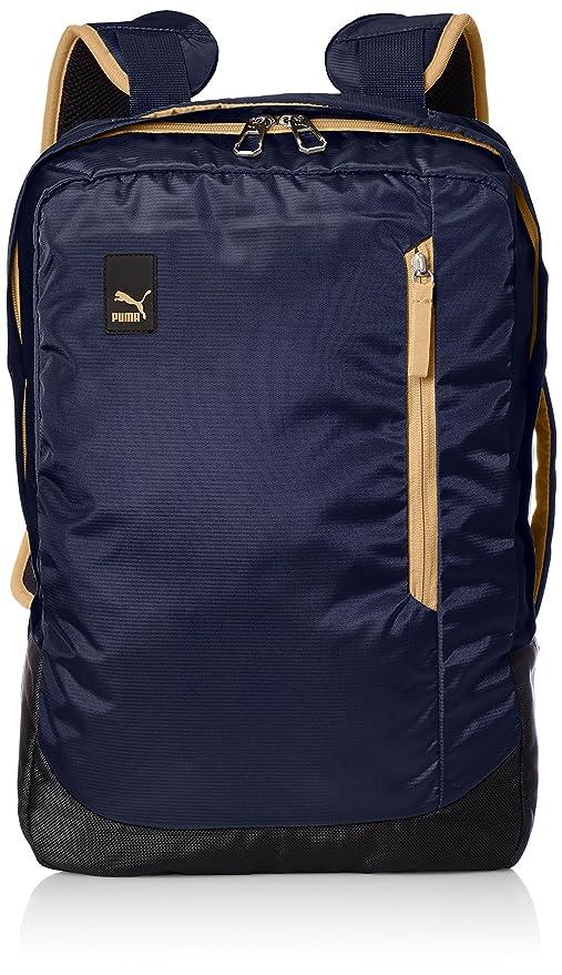 92bba67b3e70 Puma 22 Ltrs Peacoat Apple Cinnamon Laptop Backpack (7483402)  Amazon.in   Bags