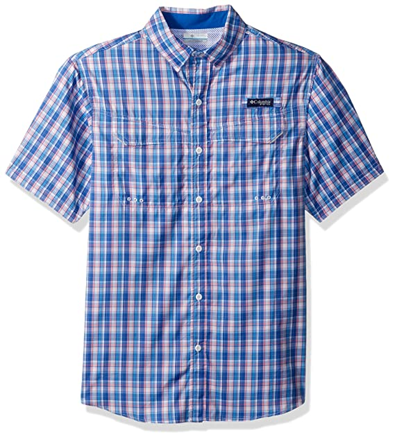 9e3ffa7e15c Image Unavailable. Image not available for. Color: Columbia Men's Super Low  Drag Short Sleeve Shirt ...
