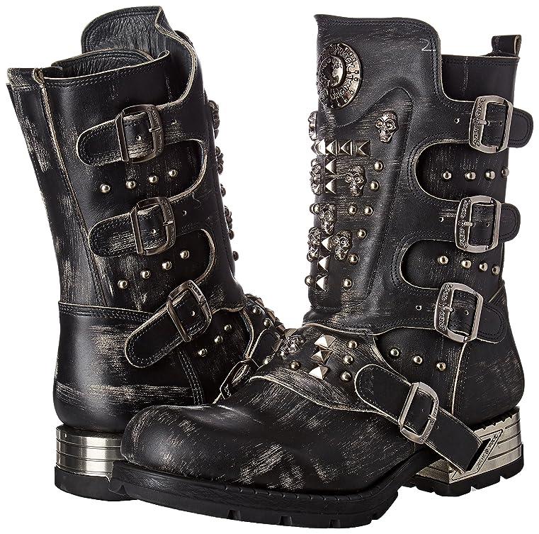 Mens M-mr019-s2 Cowboy Boots, Black New Rock
