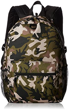 Amazon.com | FAB Starpoint Boys' Backpack with Headphones, Camo ...
