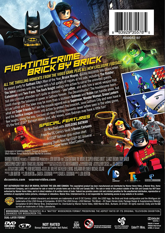 amazon com lego batman the movie dc super heroes unite