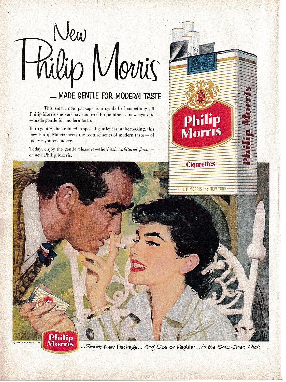 Amazon 1955 Philip Morris New Package Cigarettes Tobacco