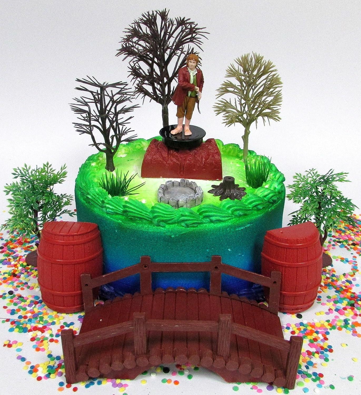 Amazon The Hobbit Bilbo Baggins Birthday Cake Topper Set