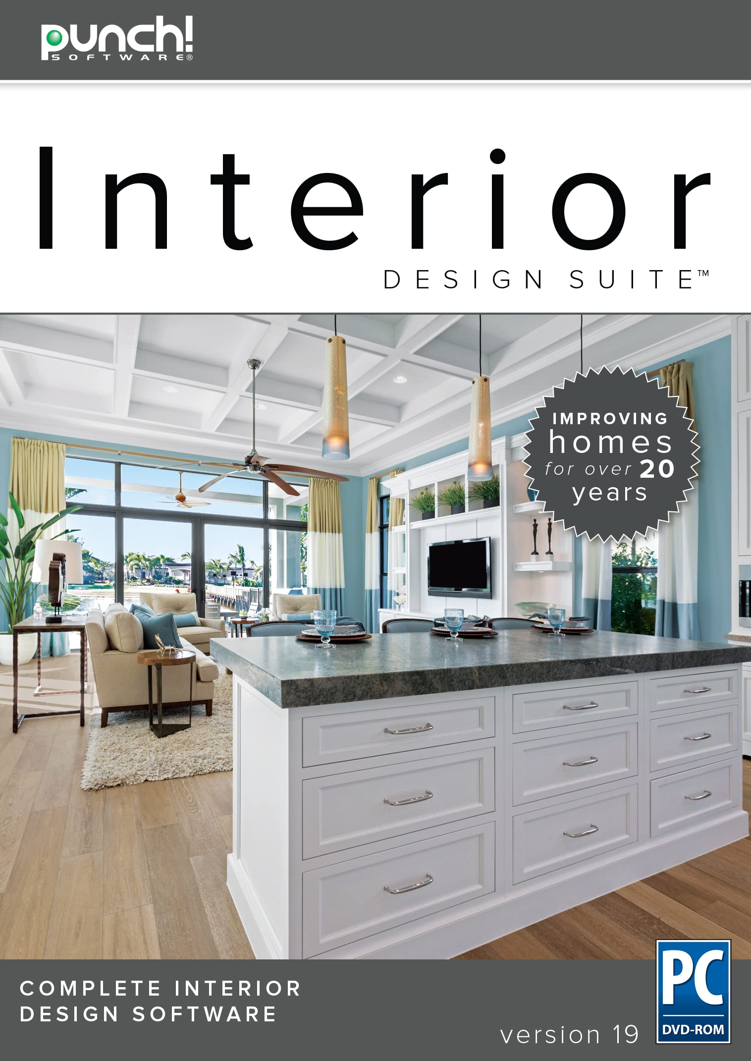 Amazon Com Punch Interior Design Suite V19 The Best Selling Interior Home Design Software For Windows Pc Download Software