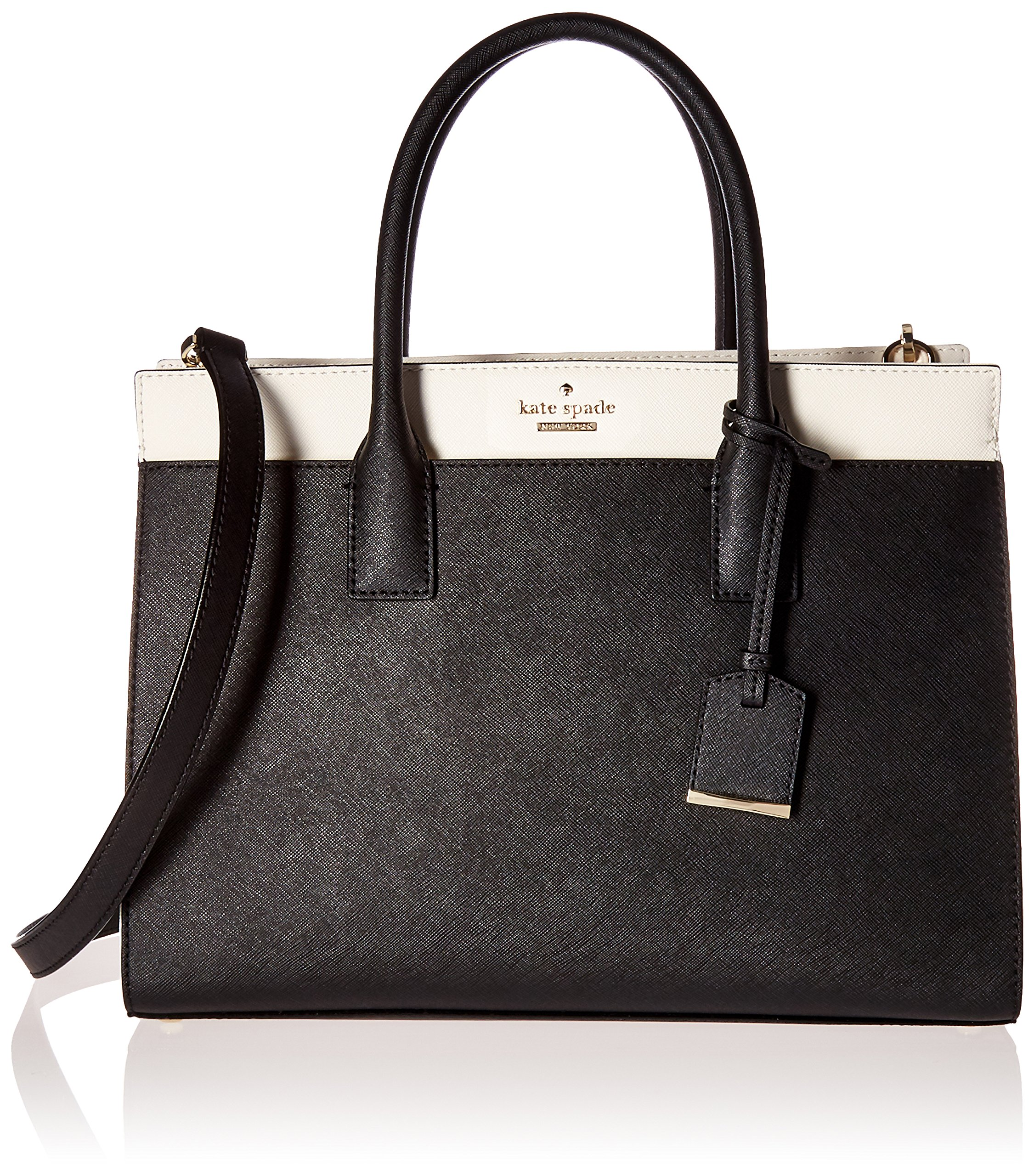 kate spade new york Cameron Street Candace Satchel, Black/Cement