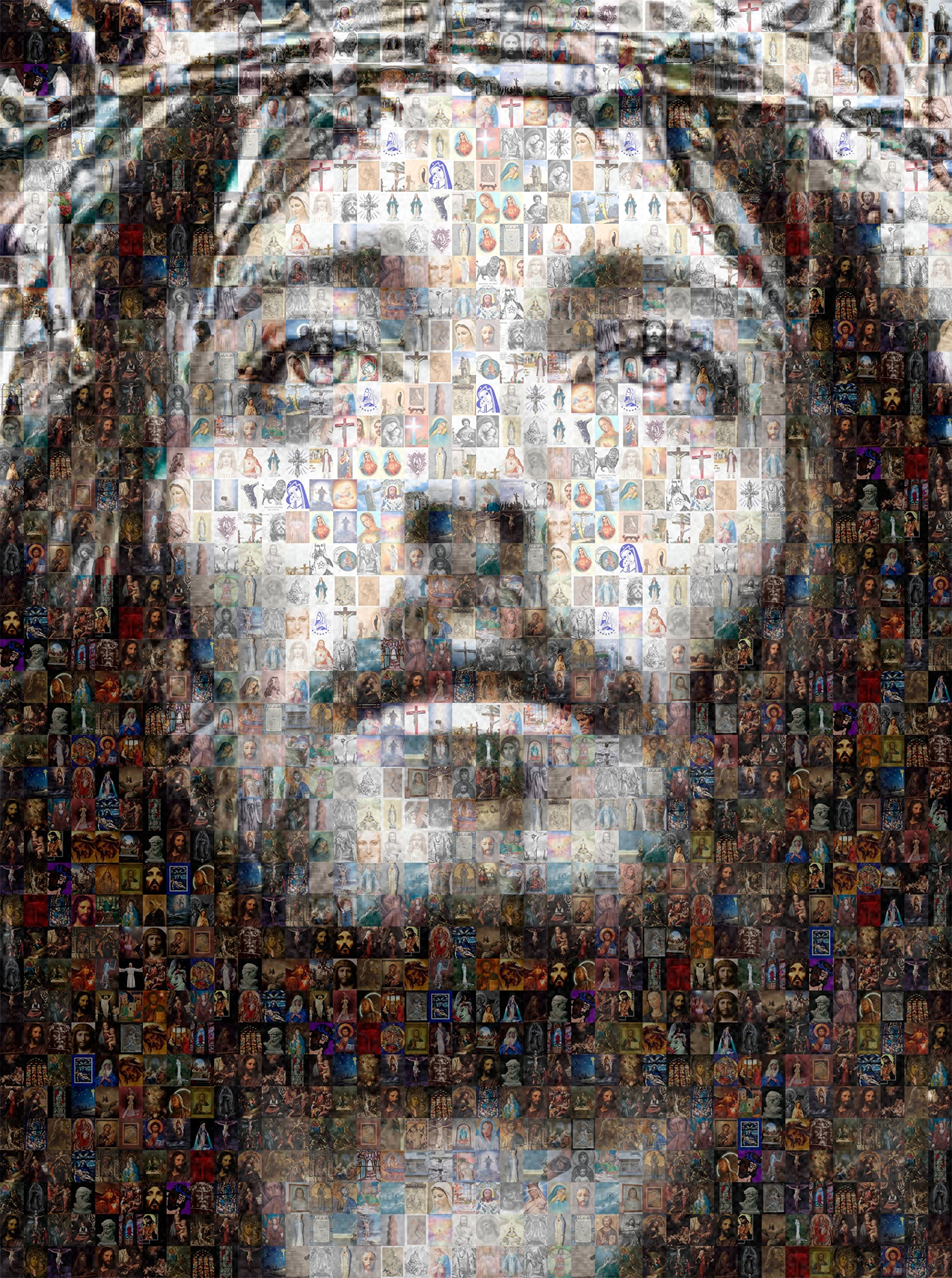 Jesus Christ Photo Collage by Verlangieri by