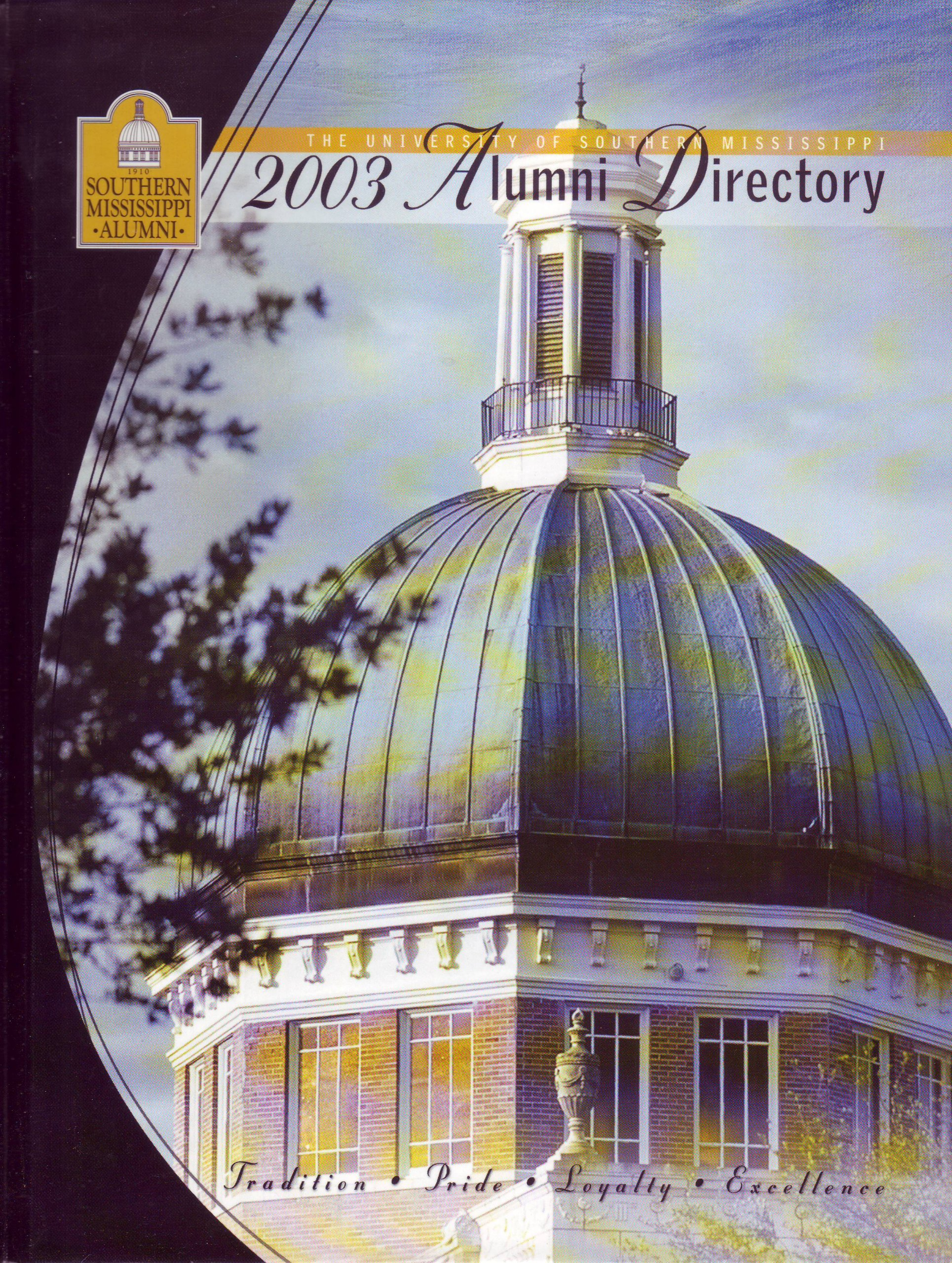 The University of Southern Mississippi: 2003 Alumni Directory pdf