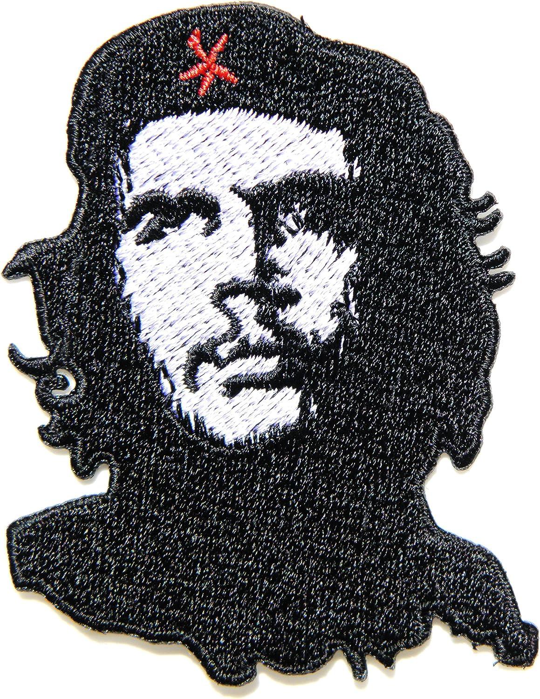 Che Guevara ejército Militar Logo chaqueta camiseta parche coser hierro en bordados disfraz de señal de insignia panicha uniforme parche: Amazon.es: Hogar